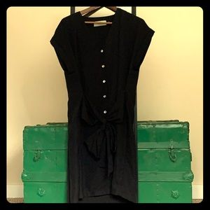 Cute black shift dress by Moves on ASOS